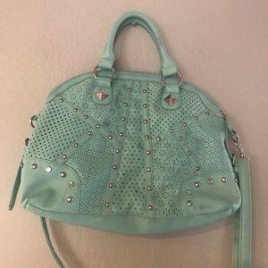 Handbags - Mint Green Handbag